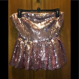 Pink sequin Fashion Nova set